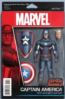 Steve Rogers Captain America #1 - Christopher Action Figure Variant Cover